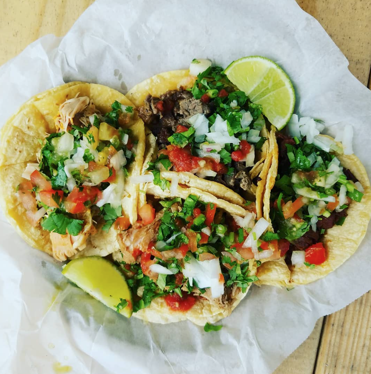 We have a series of different food trucks that rotate through out the week, come catch your favorite ones or try something our resident food truck serving street tacos, quesadillas, burritos, and nachos. You have to try the Guac!